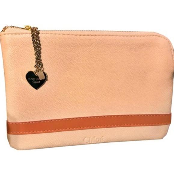 d481635a95c1 Chloe pouch clutch makeup bag wallet